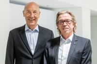 Die Doppelspitze des BVTE: Michael Kaib (Reemtsma, links) und Hans-Josef Fischer (Landewyck)